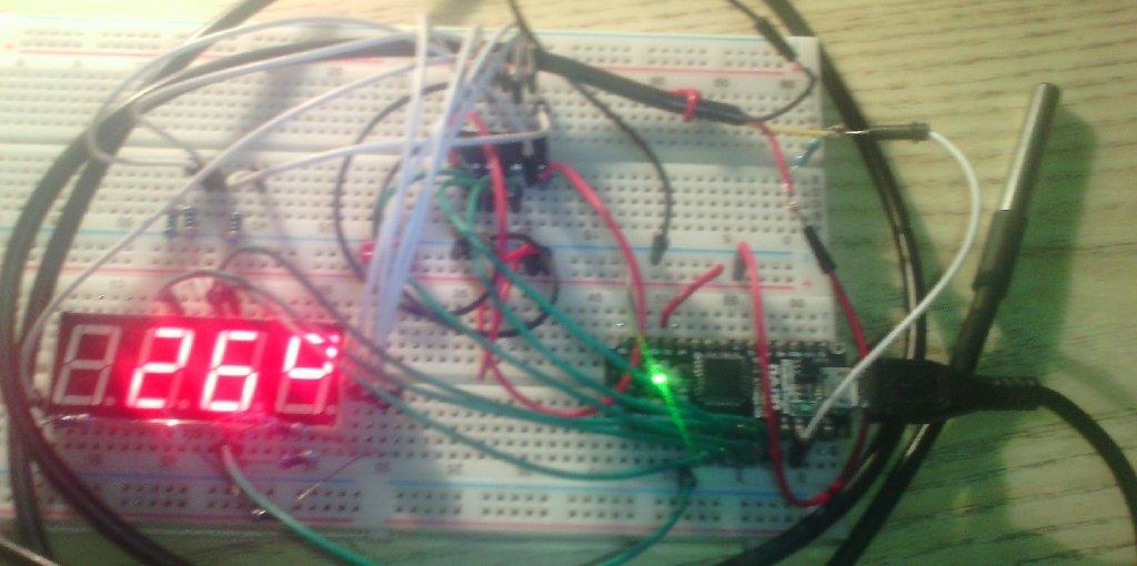 Термометр с помощью arduino и датчиков LM35 и DS18B20