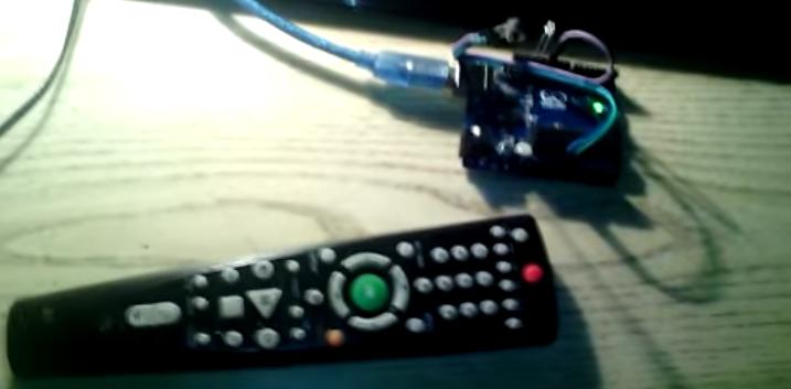 ИК-приемник VS1838B и arduino