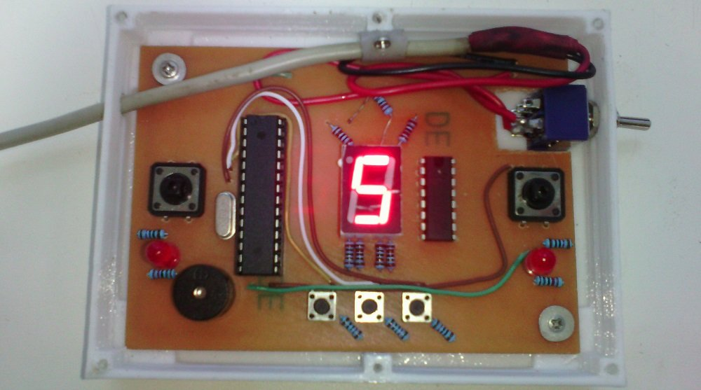 Таймер для шашек на arduino