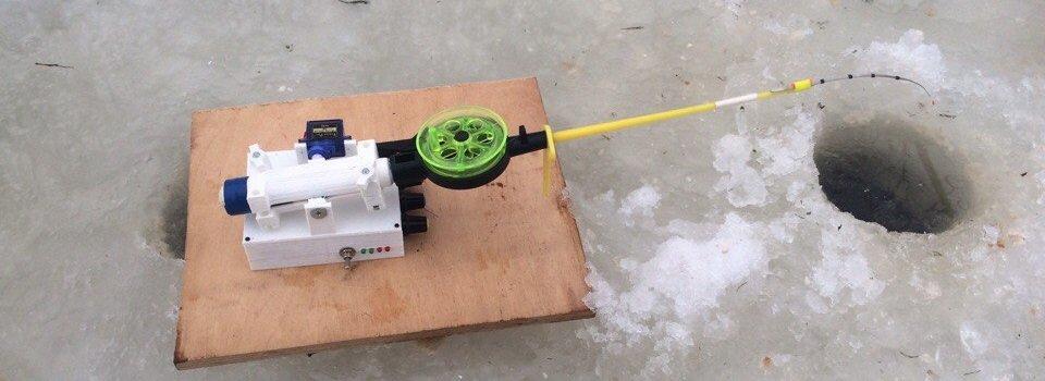 Автоматическая зимняя удочка на arduino